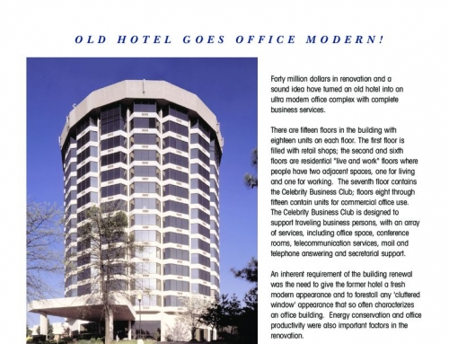 Celebrity Business Suites – Case Study Renovation