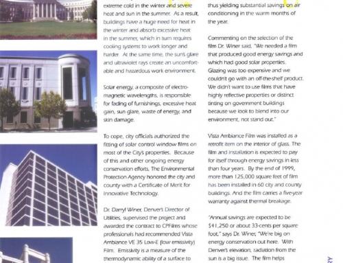 City of Denver – Case Study Energy Savings